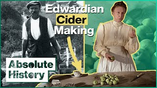 Making Fresh Cider From Apples   Edwardian Farm EP2   Absolute History