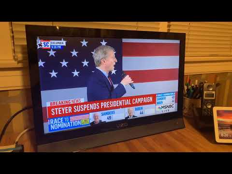 Tom Steyer Speech As He Drops Out Of 2020 Presidential Race After Poor Showing In South Carolina