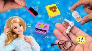 🙌 DIY: 7 Manualidades e IDEAS para hacerle a la Muñeca Barbie en esta cuarentena! #QuedateenCasa