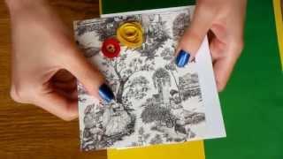Как сделать открытку за 10 минут (большиииие цветы своими руками :))(Уроки по скрапбукингу для новичков: http://chulanchik.justclick.ru/osnovy_scrapbooking Как сделать открытку быстро? Как сделать..., 2013-07-10T15:46:43.000Z)