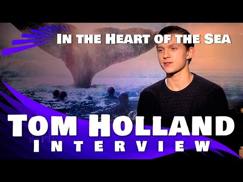 Tom Holland Interview: In The Heart of The Sea