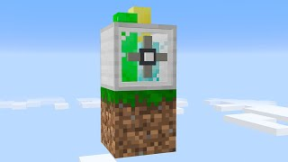 I built an UNLIMITED BLOCK FARM on 1 block Skyblock... (#9)