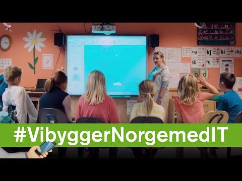 Vi bygger Norge med IT