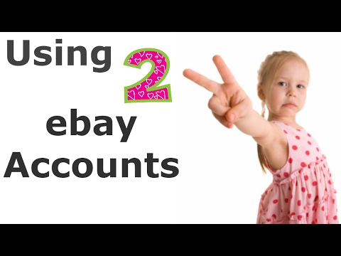 Use 2 eBay Accounts to Help with Limits as a Beginner Drop Shipper