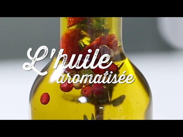 L'huile aromatisée