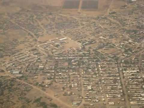 Flying over Sahil Region (Berbera City), Somaliland 2010