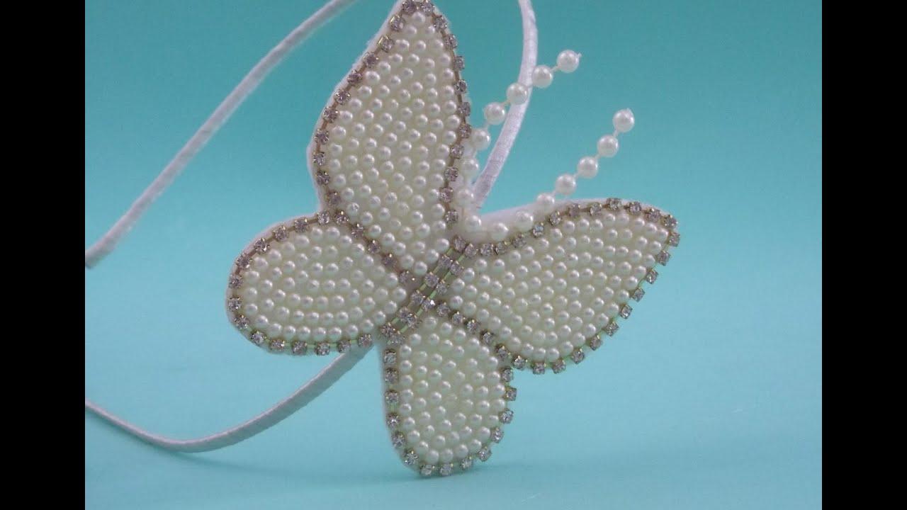 Fa a voc mesma tiara com borboleta em p rolas youtube - Fotos de aticos decorados ...