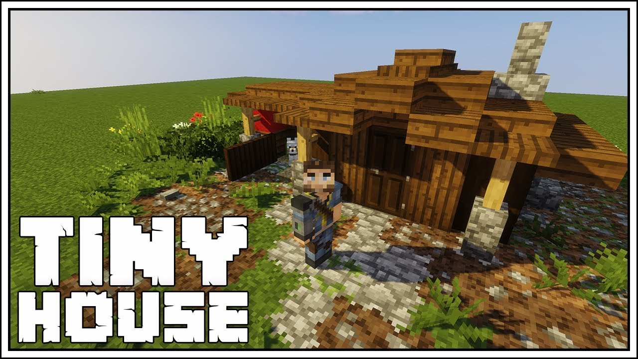 How to Build a Very Tiny House in Minecraft!