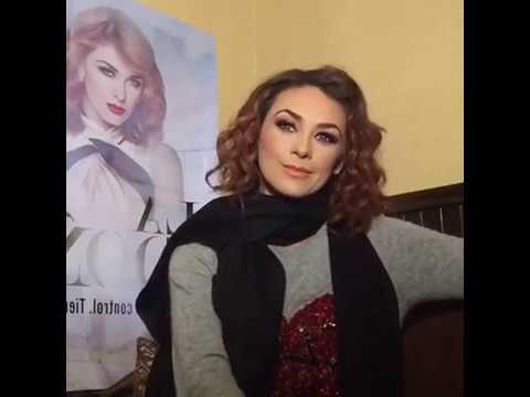 Aracely Arámbula via Facebook Live el día del Gran Estreno de La Doña
