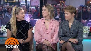 'Little Women' Stars React To Greta Gerwig Golden Globe Snub | TODAY