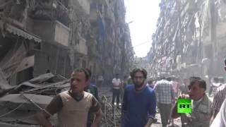 قتلى بقصف جبهة النصرة أحياء حلب السكنية
