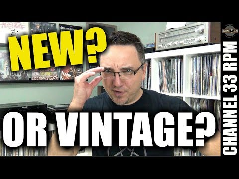 Is it better to buy new or vintage audio gear? Turntables, receivers and speakers