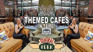 AMAZING FRIENDS CAFE IN TAIPEI! Themed & Quirky Cafes in Taipei