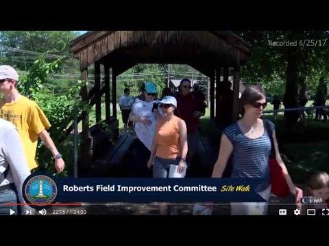 Roberts Field Site Walk – June 25, 2017
