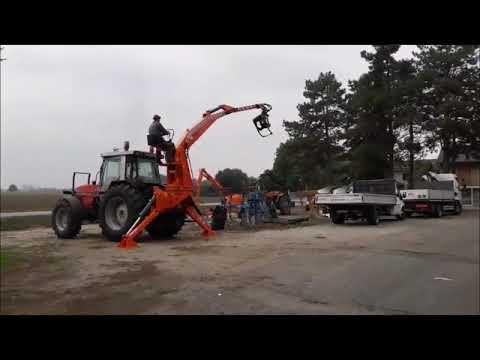 Agri Sav Caricatore Forestale P A S 1000 Youtube