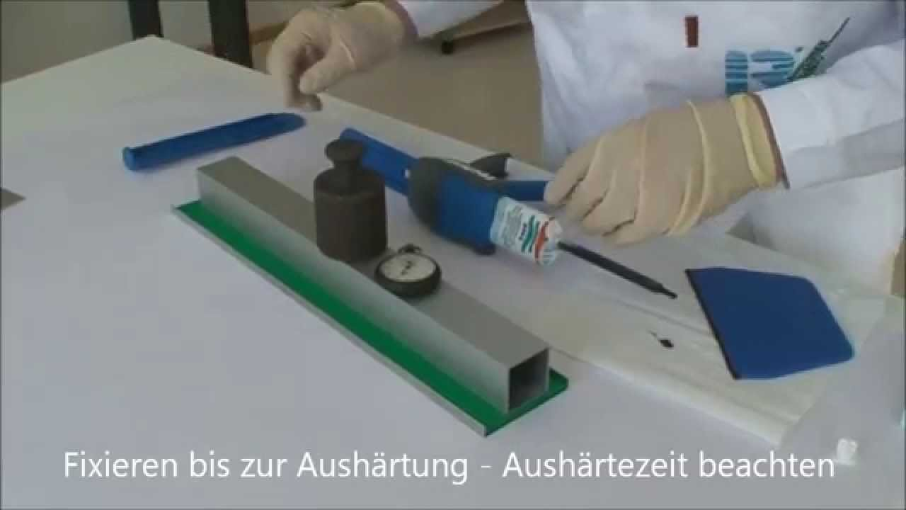 anleitung: verarbeitung von 2-komponenten klebstoffen von technicoll