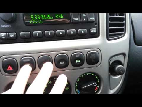 2004 Ford Escape Quick Tour and Test Drive