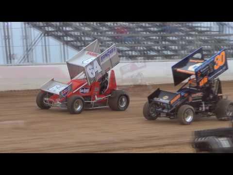 Trail-Way Speedway 358 Sprint Car Highlights 05-20-16