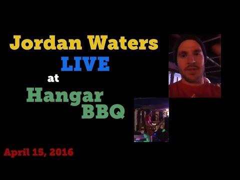 Jordan Waters LIVE at Hangar BBQ in Merced, CA! 4/15/2016