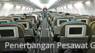 Penerbangan Pesawat Garuda Indonesia Malam hari klik aja