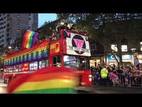 2017 Sydney gay and lesbian Mardi Gras pride parade 悉尼同性恋游行