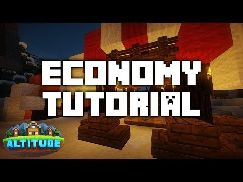 Economy Tutorial - Altitude Minecraft Server