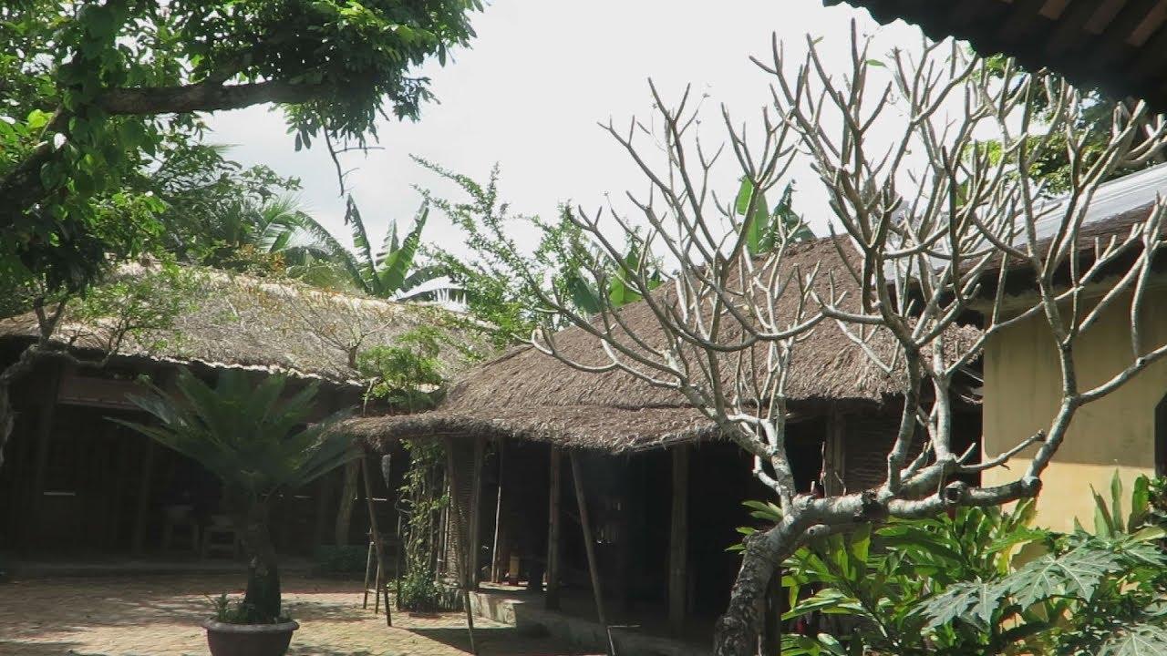Độc đáo ngôi nhà tranh tre hơn 1 thế kỷ ở Quảng Nam