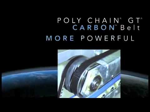 Gates Polychain Gt Carbon Belt Youtube