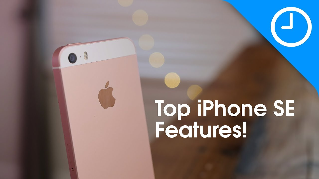iPhone SE: top 15 features - YouTube