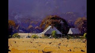 John Wilson Landscape Painting Demos