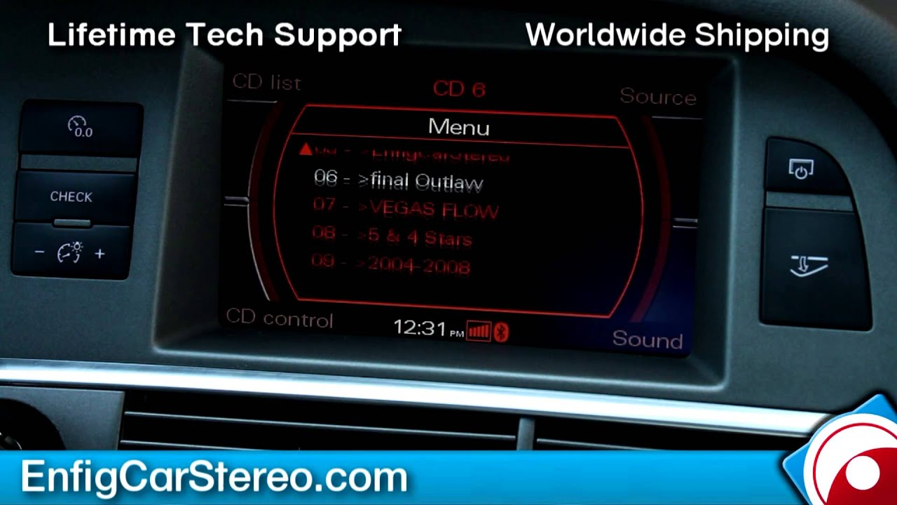 hight resolution of how to use ipod bluetooth ipod aux usb adapter audi a6 05 09 dension gw52mo1