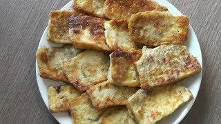 Тофу жареный в кляре - вегетарианский рецепт