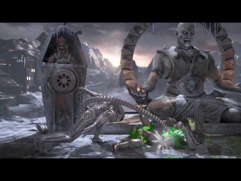 Mortal Kombat X.Alien v.R. Predetor.