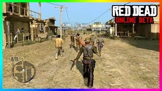 Red Dead Online FREE ROAM GAMEPLAY - GETTING STARTED! - Creating A Character, Spending Spree & MORE!