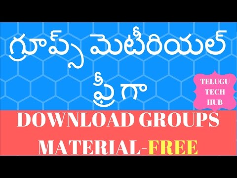 APPSC GROUP1|GROUP2|GROUP3 MATERIAL FREE DOWNLOAD