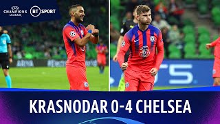Krasnodar v Chelsea (0-4) | Champions League Highlights