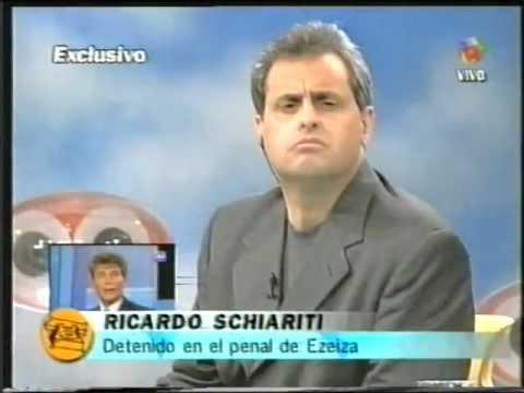 Ricardo Schiariti Detenido En El Penal De Ezeiza 01 07