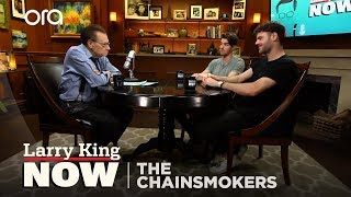 the chainsmokers reflect on big coachella show larry king now oratv