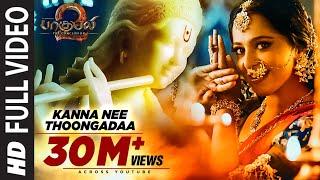 Kanna Nee Thoongadaa Full Song || Baahubali 2 Tamil | Prabhas,Anushka Shetty,Rana,Tamannaah