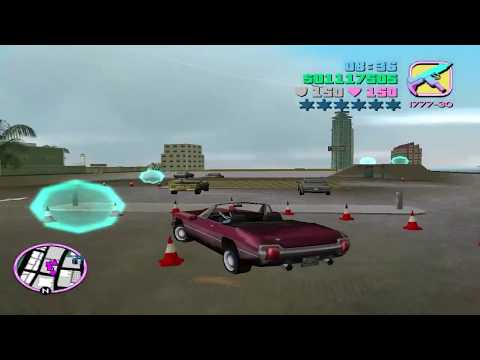 GTA Vice City - Mission #83 - Cone Crazy