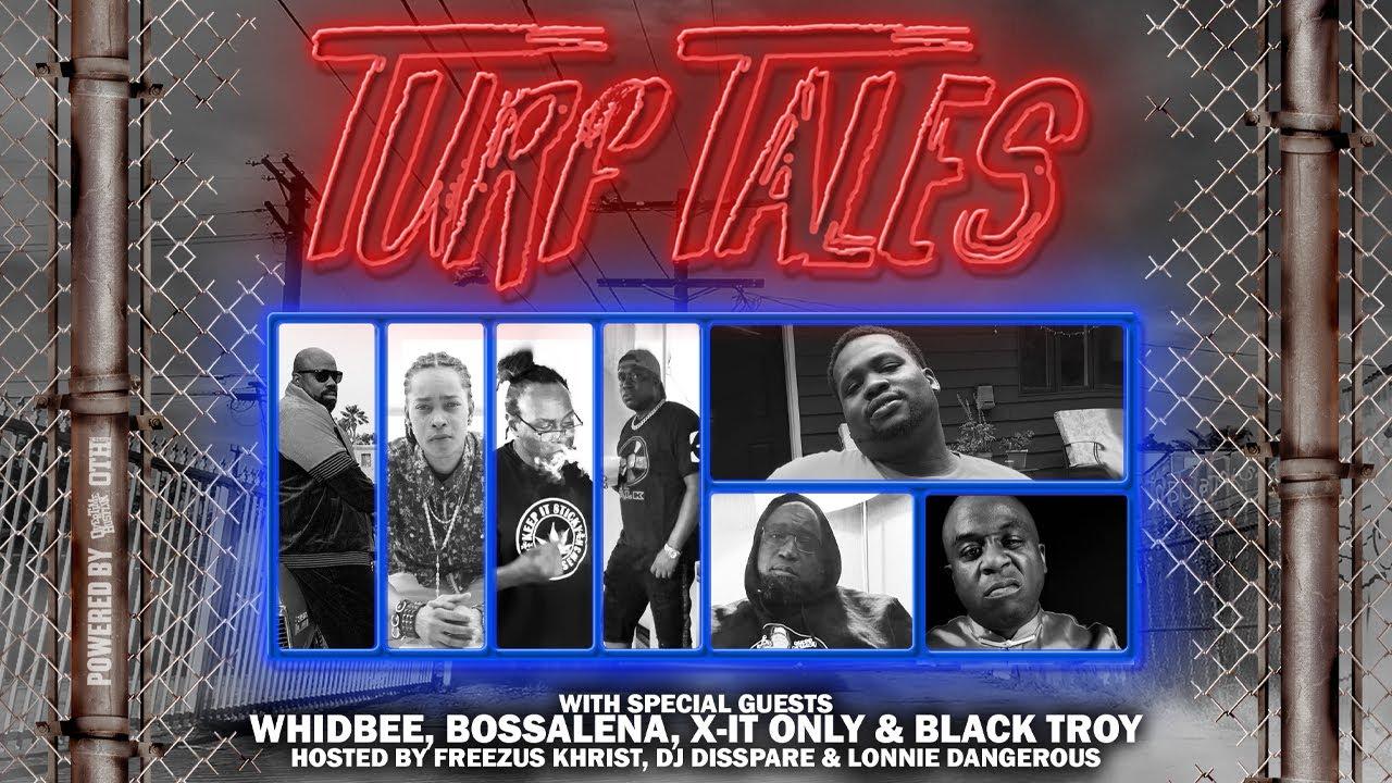 "Overtime Hustlin presents ""Turf Tales Podcast"" Episode 71 (Bossalena, X-It Only & Black Troy)"