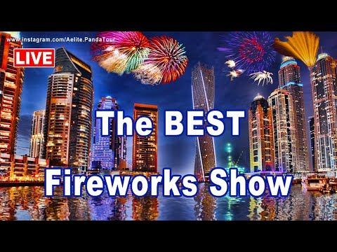 ❤ BURJ KHALIFA Fireworks ❤ DUBAI ❤ New Years Eve 2019 ❤ burj al arab ❤