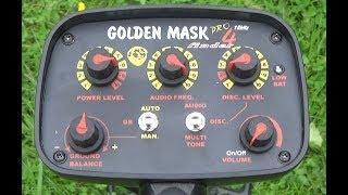 GOLDEN MASK 4 PRO. Як правильно зробити ручне балансування грунту на приладах GOLDEN MASK.