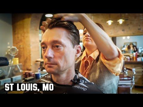 HairCut Harry Gets Dapper In St Louis, MO.