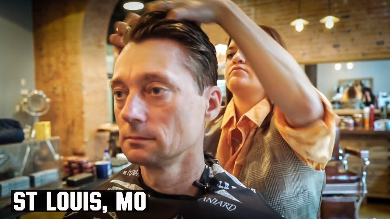 Haircut Harry Gets Dapper In St Louis Mo Youtube