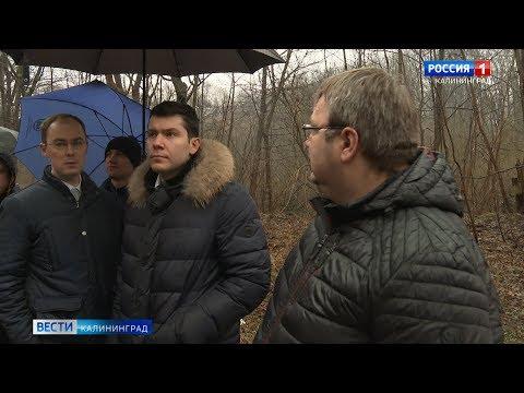 Антон Алиханов оценил ход работ в строящемся корпусе Детской областной больницы