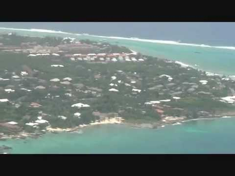 landing at GCM George Town Grand Cayman Islands Owen Roberts International Airport