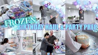 FROZEN BIRTHDAY HAUL & PARTY PREP!