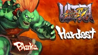 Ultra Street Fighter IV - Blanka Arcade Mode (HARDEST)
