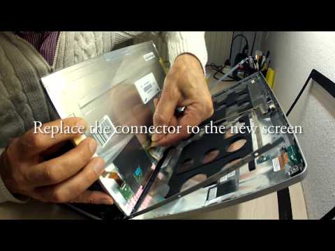 Tutorial How To Replace Laptop Screen IBM-Lenovo THINKPAD EDGE 14 0578-A25